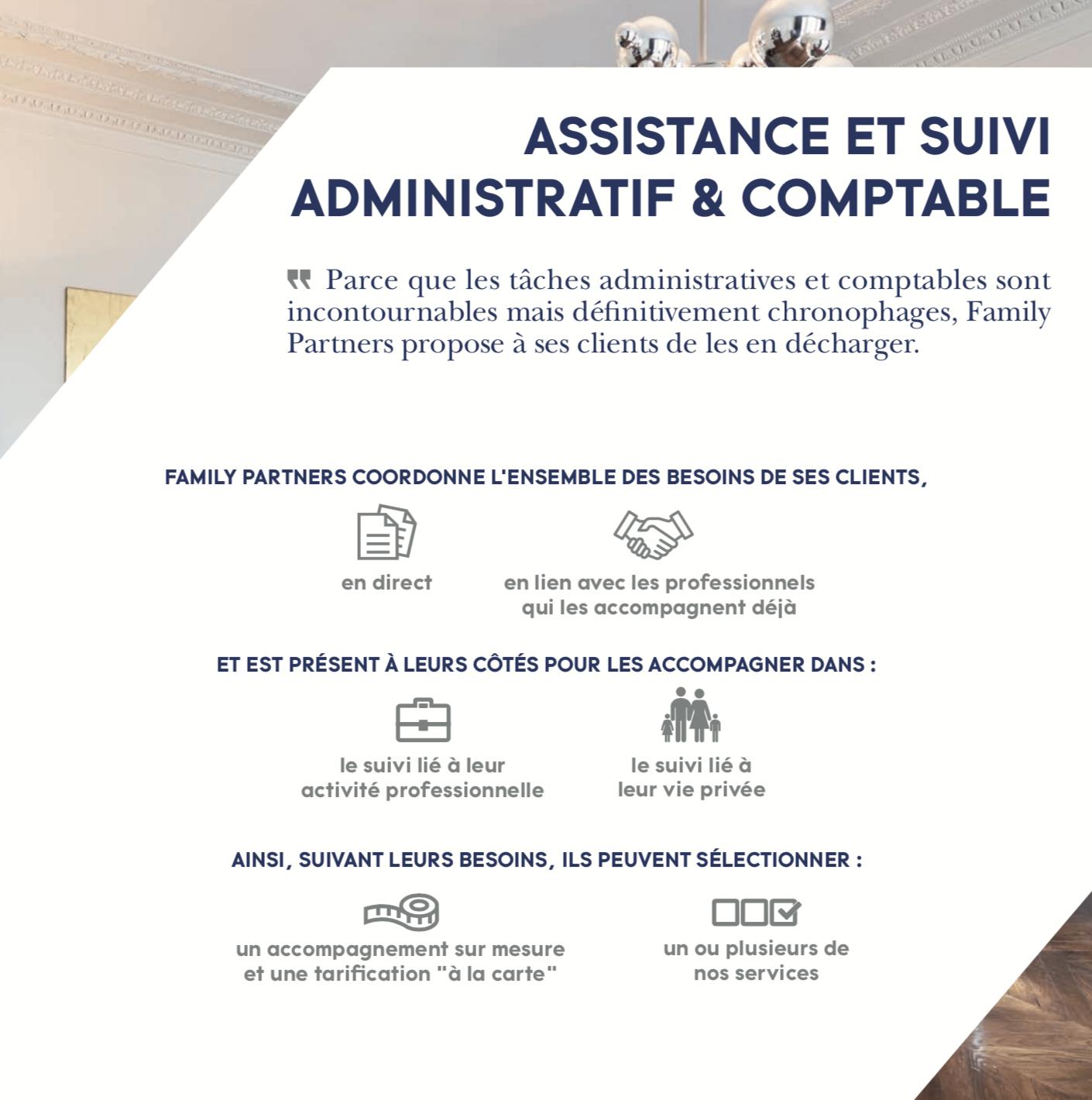 Assistance et suivi administratif et comptable