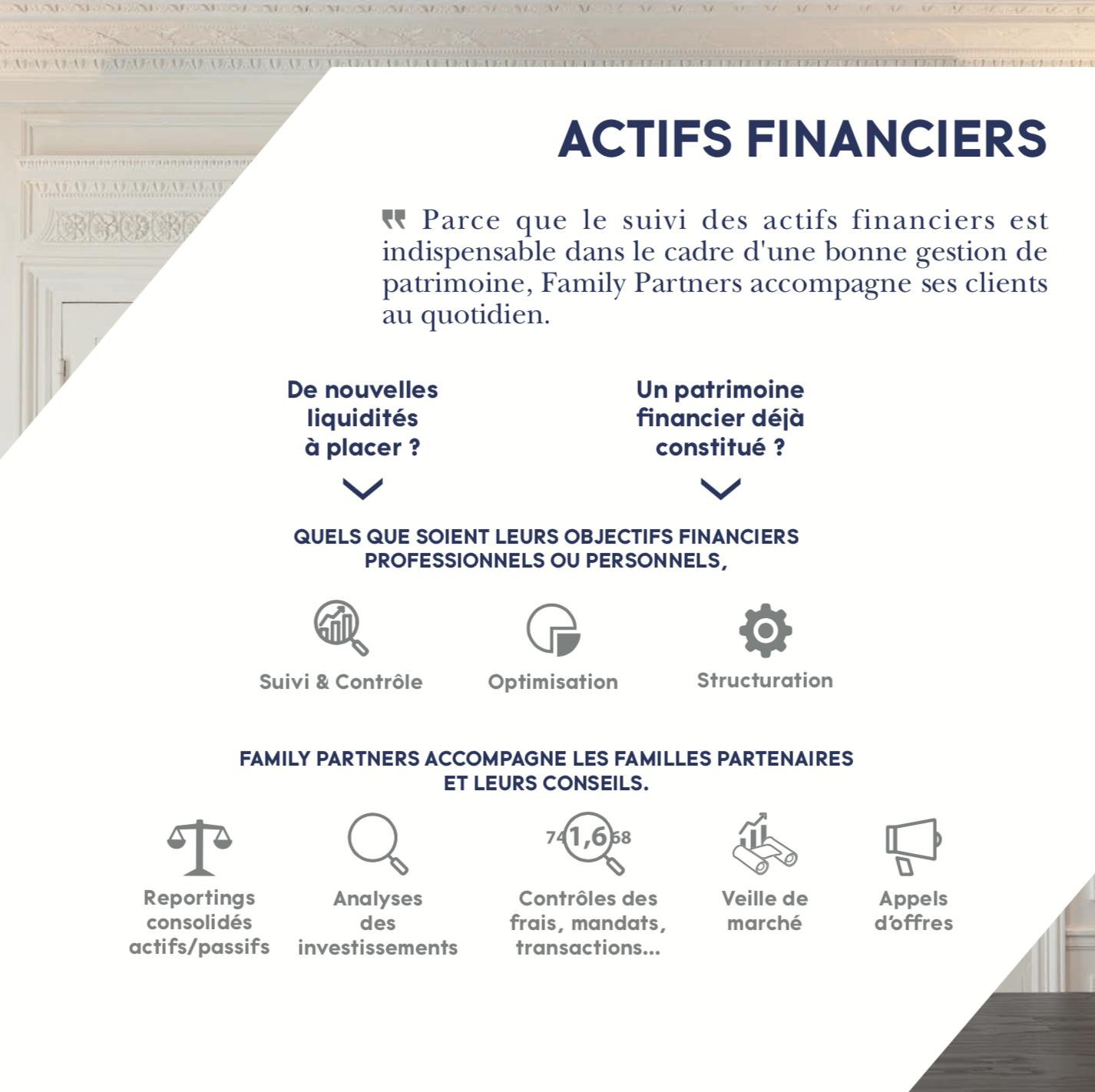 Actifs Financiers